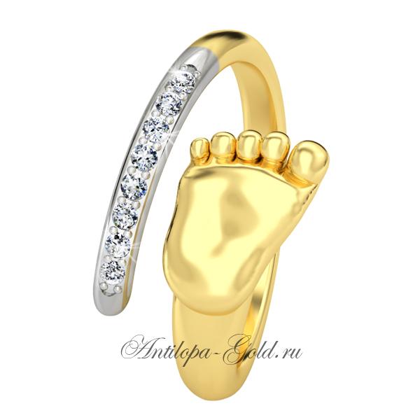 кольцо на рождение дочки