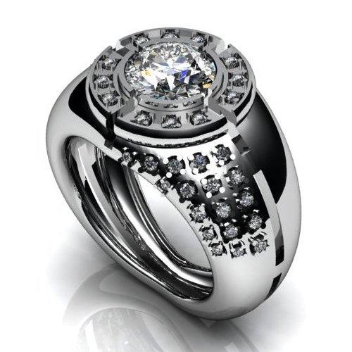 кольца с бриллиантами мужские фото