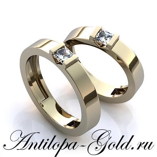 Описание: Обручальное кольцо узкое