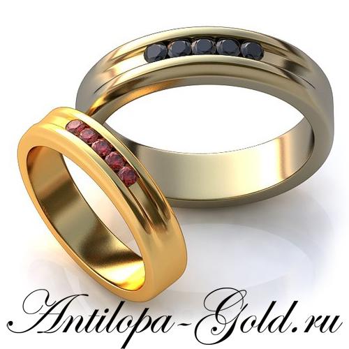 96310f3f593d Обручальные кольца с черными бриллиантами, обручальные кольца ювелирная  мастерская