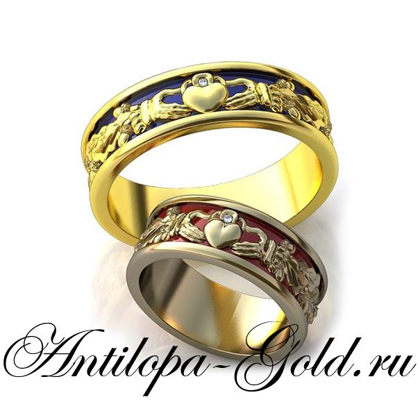 203115f44deb Кладдахское кольцо золотое купить в Москве