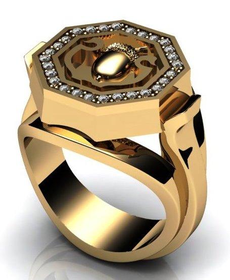 Мужские перстни из золота, мужские кольца ручной работы 3ccf2de921e